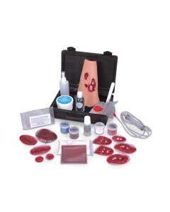 14-17-4519 Simulaids Basic Casualty Moulage Simulator Kit
