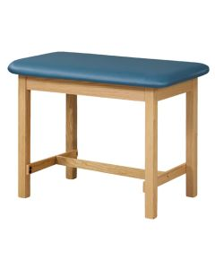 Taping Table with H-Brace, 27 In. High