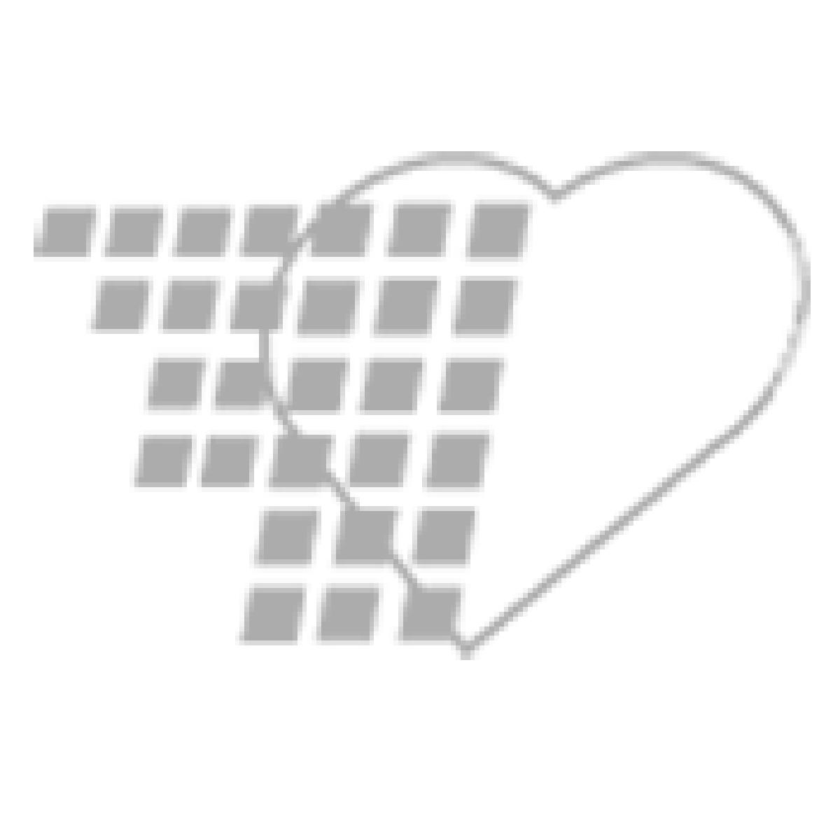 02-43-5248 Pocket Nurse® White Plastic Ruler