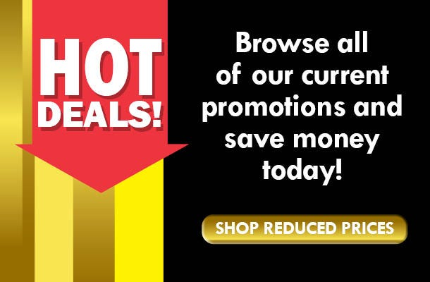 Hot Deals - shop reduced prices