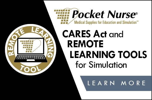 Cares Act and Remote Learning Tools for Simulation