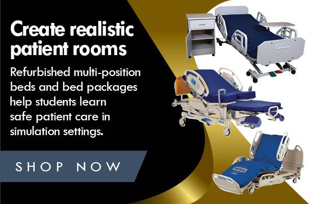 Create realistic patient rooms