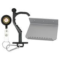 Anti-germ utility tool and foot door opener