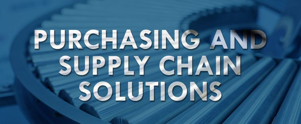 Purchasing and supply chain solutions