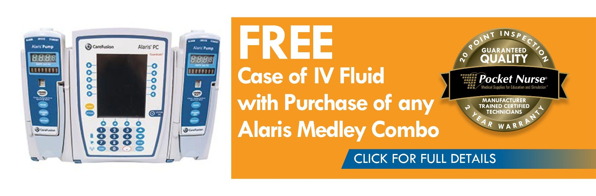 Free case of IV fluid